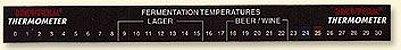 Termômetro Adesivo Brewferm 0C a 30C - Imagem 1