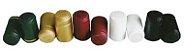 Capsulas Térmicas Douradas para Vinho 25 un. - Imagem 1