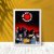 Quadro Red Hot Chili Peppers (2) - Imagem 4