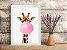 Quadro Chiclete Girafa - Imagem 4