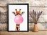 Quadro Chiclete Girafa - Imagem 3