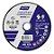 DISCO CORTE AZUL T41 115X1.0X22 - NORTON - Imagem 1