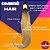 Cabelo Humano Liso Ombré Hair Loiro Mesclado  50 / 55 Centímetros 50 Gramas - Imagem 2