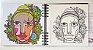 Livro de arte ilustrado - Edição Etnia   24 ilustrações   Dois tipos de papéis Hahnemühle - Imagem 6