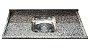 Pia Granito  Ocre Cuba Inox 1,50M X 55Cm - Imagem 1
