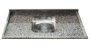 Pia Granito  Ocre Cuba Inox 1,20M X 55Cm - Imagem 1