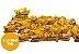 Paçoca Rolha Embrulhada 100 Unidades 15g - Imagem 1