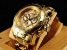 Relógio invicta Pro Diver 0074 Original Dourado - Imagem 2