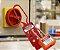 Bloqueio de Segurança Tipo Garra Nylon Não condutivo Para 6 Cadeados - Imagem 2