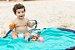 Tapete de Brincar que vira Bolsa - Azul + Turquesa - Baby & Me - Imagem 2