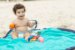 Tapete de Brincar que vira Bolsa - Azul + Laranja - Baby & Me - Imagem 3