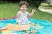Tapete de Brincar que vira Bolsa - Azul + Laranja - Baby & Me - Imagem 4