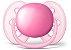 Chupeta Ortodôntica Ultra Soft (Escudo Flexível) 6-18 Meses com 2 Unidades Menina - Philips Avent - Imagem 3
