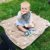 Manta de Microfibra Estampada Cinza Dupla Face - Piccolo Bambino - Imagem 4