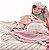 Manta de Microfibra Rosa Dupla Face - Piccolo Bambino - Imagem 3