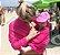 Capa Multifuncional para Mamãe e Bebê Listrada Branco e Cinza - Penka Cover - Imagem 7