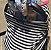 Capa Multifuncional para Mamãe e Bebê Listrada Branco e Cinza - Penka Cover - Imagem 5