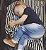 Capa Multifuncional para Mamãe e Bebê Listrada Branco e Cinza - Penka Cover - Imagem 2