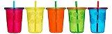 Kit com 04 Copos com Tampa e Canudo Coloridos Take & Toss - Girotondo Baby - Imagem 3