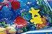 Tapete de Água Inflável Divertido para Bebê Fundo do Mar - Kababy - Imagem 5