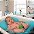 Almofada de Banho para Bebê Azul Pequena - Baby Pil - Imagem 6