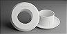 Acabamento estético para o ponto de despejo de água da máquina de lavar roupa, tanquinho e secadora de roupa - 90AML-50 - Imagem 1