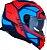 Capacete LS2 FF800 Storm Faster Azul/Laranja Fluo - Imagem 2