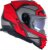 Capacete LS2 FF800 Storm Faster Vermelho Fosco/Cinza - Imagem 2