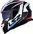 Capacete LS2 FF800 Storm Racer Azul/Vermelho - Imagem 1