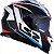 Capacete LS2 FF800 Storm Racer Azul/Vermelho - Imagem 2