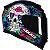 Capacete Axxis Eagle Skull Azul - Imagem 2