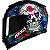 Capacete Axxis Eagle Skull Azul - Imagem 1