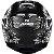 Capacete Axxis Eagle Skull Preto Fosco - Imagem 4