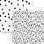 Papel Pontos (Coleção Basiquinha - Linha P&B) - Pacote com 15 unidades  - Imagem 1