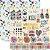 Papel Fazer Artesanato (Coleção o Que Me Faz Feliz) - Pacote com 15 Unidades - Imagem 1