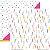 Papel Confetti (Coleção Basiquinha Colors) - Pacote com 15 unidades - Imagem 1