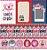 Papel Amor Crush (Amor e Ponto) - Pacote com 15 Unidades - Imagem 1