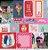 Papel Flores pra Você (Coleção Amor e Ponto) - Pacote com 15 Unidades - Imagem 1