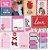 Papel Juntinhos (Coleção Amor e Ponto) - Pacote com 15 Unidades - Imagem 1