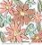 Papel Flores em Cores (Coleção Basiquinha Candy) - Pacote com 15 unidades - Imagem 1