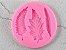Molde de silicone de Folhas 3x1 - Imagem 1