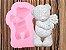Molde de silicone Urso Com Buquê de Flores - Imagem 5