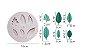Molde de silicone de Folhas- 6 Modelos - Imagem 3