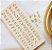 Molde de silicone de Letras/ Alfabeto Candy - Imagem 1