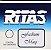 Botão Ritas, Azul Céu (cx c/ 200un) - Imagem 2