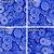 Botão Ritas, Tamanho 12mm, Pacote com 50 unidades, Cor Azul Royal - Imagem 1
