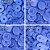 Botão Ritas, Tamanho 12mm, Pacote com 50 unidades, Azul Céu - Imagem 1
