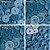 Botão Ritas, Tamanho 12mm, Pacote com 50 unidades, Cor Cobalto - Imagem 1