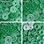 Botão Ritas, Tamanho 12mm, Pacote com 50 unidades, Cor Verde Bandeira - Imagem 1