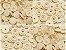 Botão Ritas, Tamanho 12mm, Pacote com 50 unidades, Cor Palha - Imagem 1